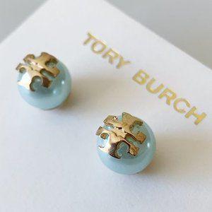 Tory Burch Baby Blue Earrings